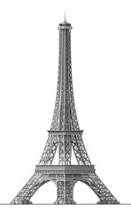 The Eiffel Tower is the symbol of Paris in France.