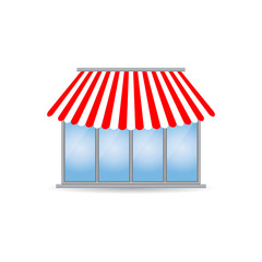 shop icon with special design