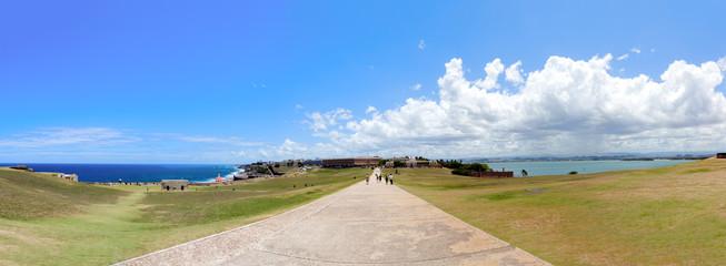 Old San Juan viewed from El Morrow fort