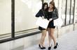Frauen beim einkaufen