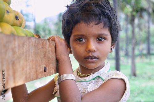 Indian Little Girl