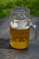 Bier Genuss im Biergarten