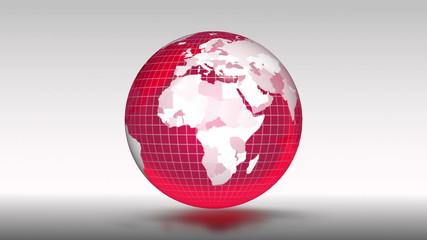 Red globe.