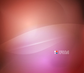 Pink abstract vector background