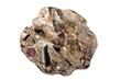 Leinwandbild Motiv Schist with almandine garnet, staurolite, kyanite, and muscovite