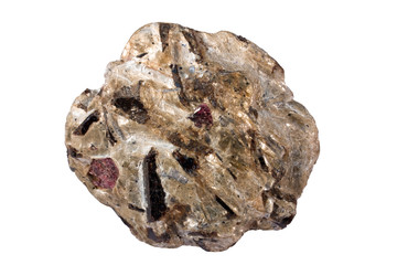 Schist with almandine garnet, staurolite, kyanite, and muscovite