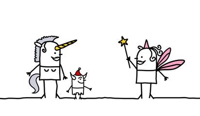 unicorn & fairy