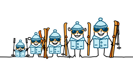 ski & family