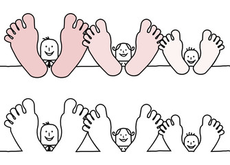 big feet family