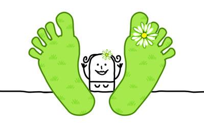 big feet & spring