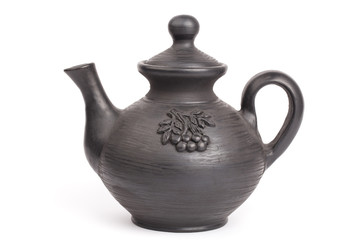 Teapot isolated on a white backgrounds