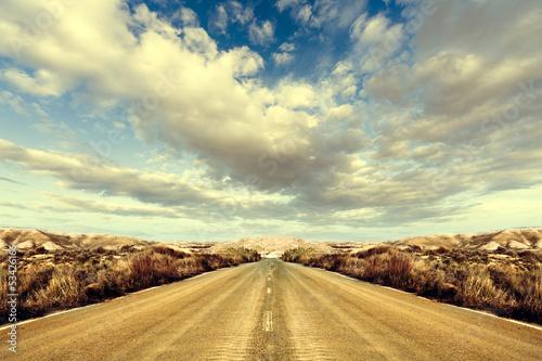 Carretera y paisaje.Viajes por carretera