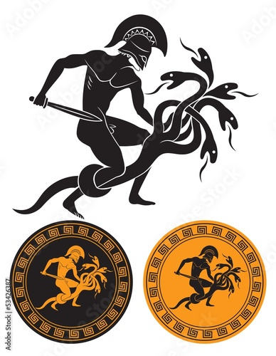 Hercules and hydra
