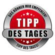 5 Star Button rot TIPP DES TAGES DKWE TDT