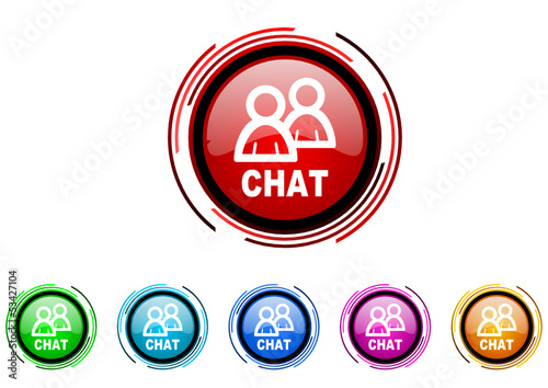 call now vector glossy web icon set