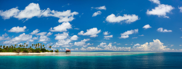 Mantabuan island in Malaysia
