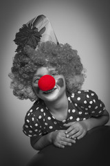 little clown - red nose