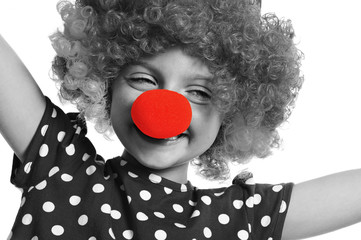 clown - red nose