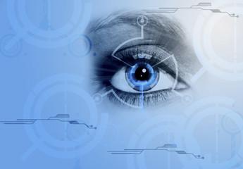 ojo codificado, identidad