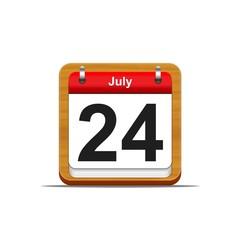 24 de Julio.