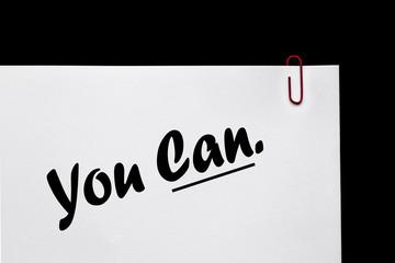 You Can - Positive Mentoring / Coaching.