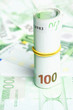 100 Euro Bills