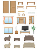 Living room furniture / Type1