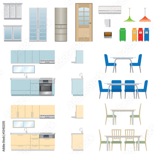 Kitchen Furniture / Type2