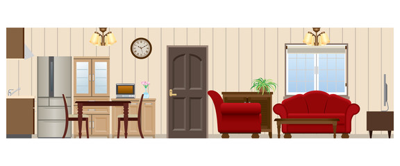 Living room / Dining room / Kitchen_Type3