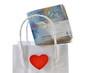 Geld Einkaufstasche Herz