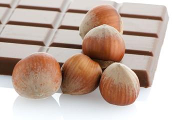 Chocolate Bar with hazelnuts