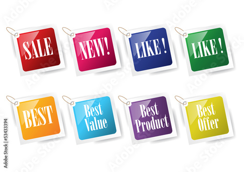 Price Tags Template 12