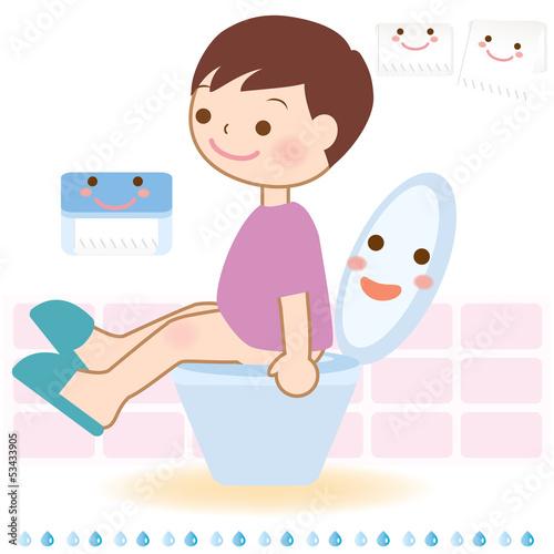 トイレトレーニング 子ども イラスト