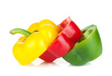Sliced bell pepper