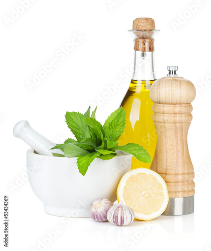 Condiments and herbs