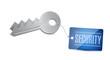 Keys of Security Concept Illustration design