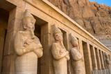 Fototapeta Statues of Queen Hatshepsut in Luxor (Thebes), Egypt.