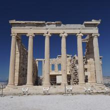 temple de Erechthéion, Acropole d'Athènes, Grèce