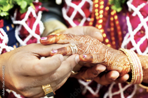Great Hindu Wedding With this ring I thee