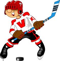 hockey attack