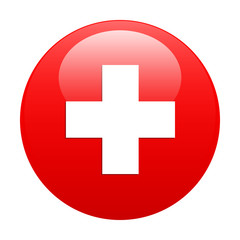 bouton internet health red