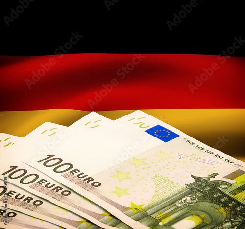 German Euro Bills