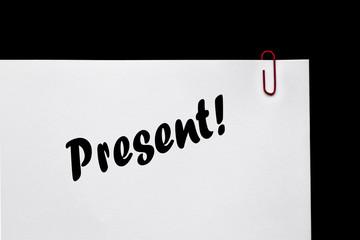 Present / Gift Memo & Reminder! Relationships.