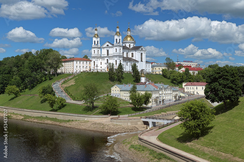 Assumption cathedral in Vitebsk, Belarus