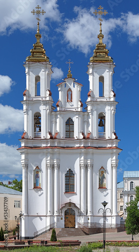 Resurrection church in Vitebsk, Belarus