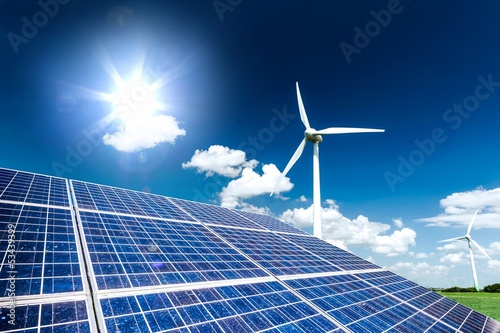 canvas print picture clean energy