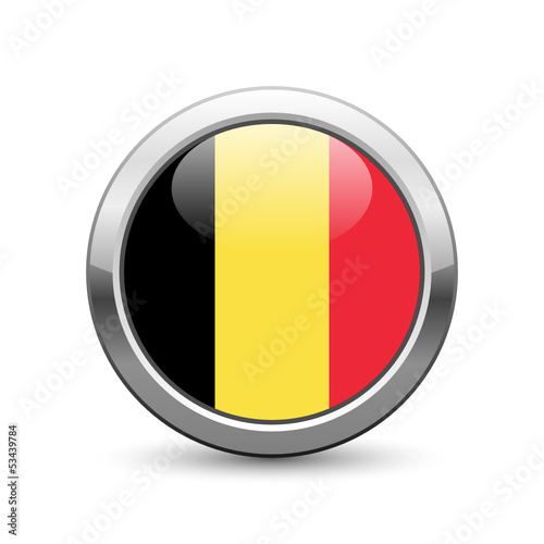 Belgian flag icon web button