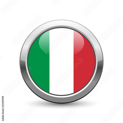 Italian flag icon web button