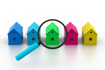 Search a  new house..