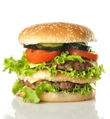 Gran hamburguesa.